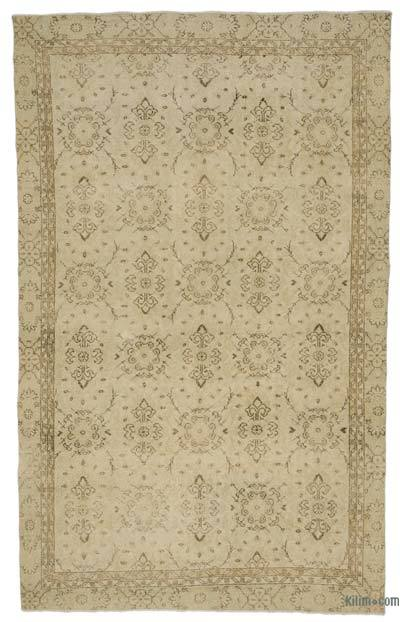 "Over-dyed Turkish Vintage Rug - 6'  x 9' 11"" (72 in. x 119 in.)"