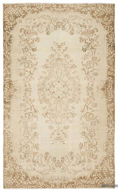 "Over-dyed Turkish Vintage Rug - 5'9"" x 9'6"" (69 in. x 114 in.)"