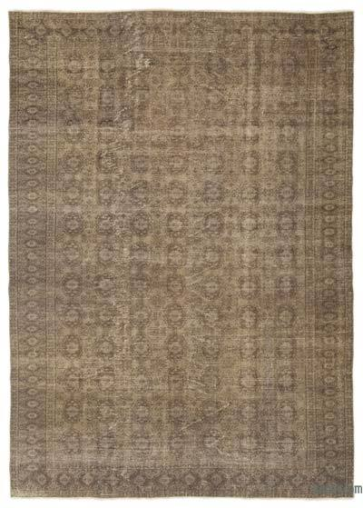 """Over-dyed Turkish Vintage Rug - 6'6"""" x 8'11"""" (78 in. x 107 in.)"""
