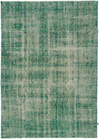 """Turkish Vintage Area Rug - 6'11"""" x 9'9"""" (83 in. x 117 in.)"""