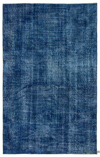 "Over-dyed Turkish Vintage Rug - 6'  x 9' 6"" (72 in. x 114 in.)"