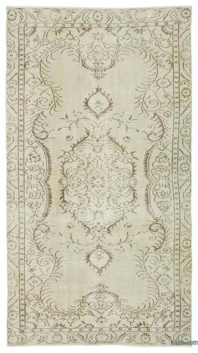 "Over-dyed Turkish Vintage Rug - 4'11"" x 9' (59 in. x 108 in.)"