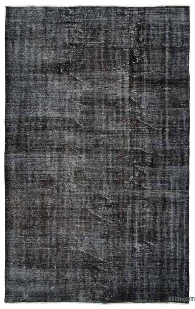 "Over-dyed Turkish Vintage Rug - 5' 9"" x 9' 1"" (69 in. x 109 in.)"