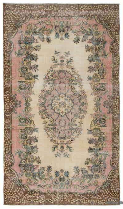 El Dokuma Vintage Halı - 166 cm x 285 cm