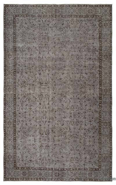 "Over-dyed Turkish Vintage Rug - 5'3"" x 8'9"" (63 in. x 105 in.)"