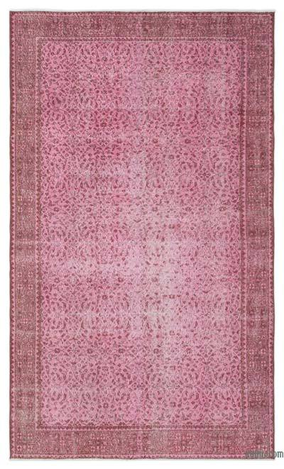 "Over-dyed Turkish Vintage Rug - 5' 6"" x 9' 4"" (66 in. x 112 in.)"