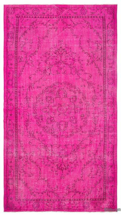 "Over-dyed Turkish Vintage Rug - 5'5"" x 9'9"" (65 in. x 117 in.)"
