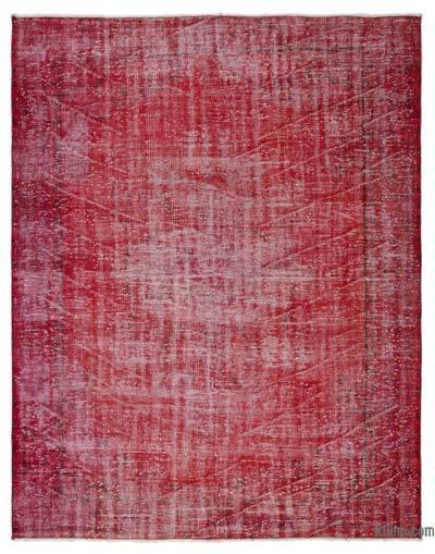 Alfombra Turca Vintage Sobre-teñida - 195 cm x 243 cm