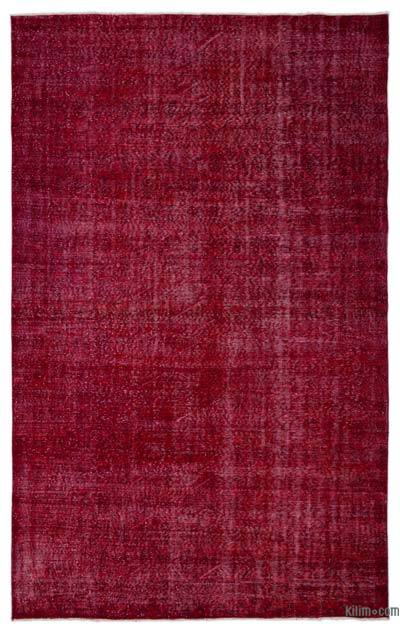 "Over-dyed Turkish Vintage Rug - 6' 9"" x 10' 9"" (81 in. x 129 in.)"