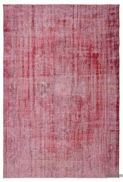 "Over-dyed Turkish Vintage Rug - 6' 3"" x 9' 3"" (75 in. x 111 in.)"
