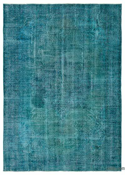 Alfombra Turca Vintage Sobre-teñida - 219 cm x 309 cm