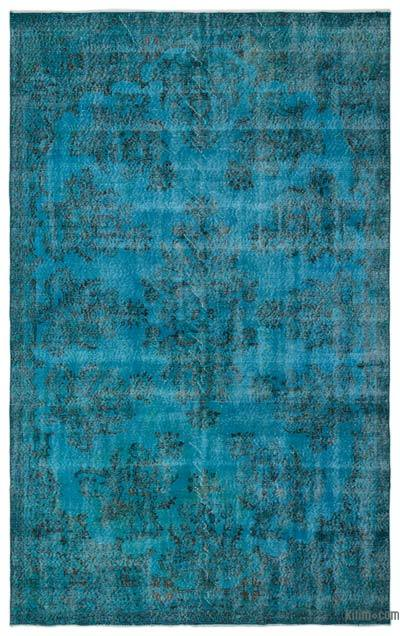 Alfombra Turca Vintage Sobre-teñida - 199 cm x 325 cm