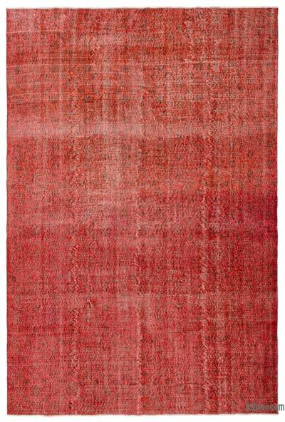 "Over-dyed Turkish Vintage Rug - 7'  x 10' 5"" (84 in. x 125 in.)"