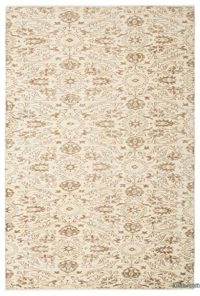 "Turkish Vintage Area Rug - 5'9"" x 8'8"" (69 in. x 104 in.)"