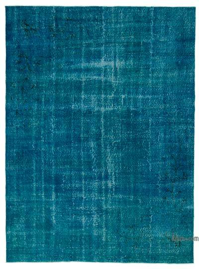 "Over-dyed Turkish Vintage Rug - 6'10"" x 9'2"" (82 in. x 110 in.)"