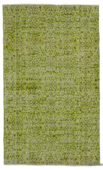 "Over-dyed Turkish Vintage Rug - 4' 1"" x 6' 9"" (49 in. x 81 in.)"