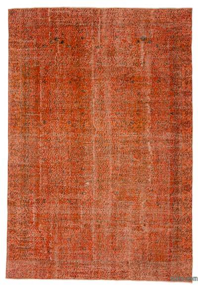 "Over-dyed Turkish Vintage Rug - 6' 1"" x 8' 10"" (73 in. x 106 in.)"