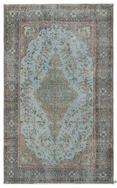 """Turkish Vintage Area Rug - 5'10"""" x 9'7"""" (70 in. x 115 in.)"""