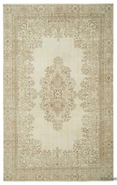 "Over-dyed Turkish Vintage Rug - 6' 7"" x 10' 5"" (79 in. x 125 in.)"