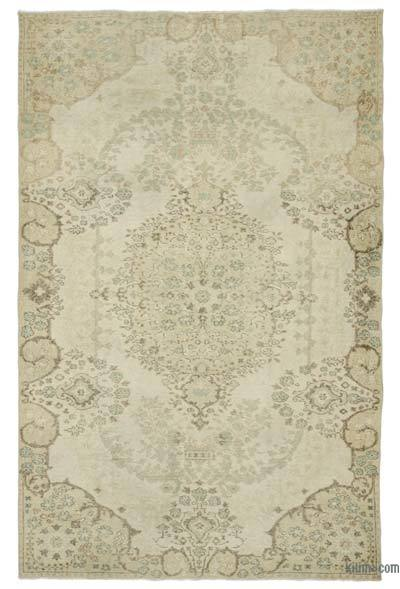 "Over-dyed Turkish Vintage Rug - 6'  x 9' 5"" (72 in. x 113 in.)"