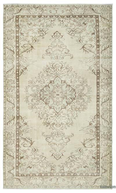 "Over-dyed Turkish Vintage Rug - 5'10"" x 10' (70 in. x 120 in.)"
