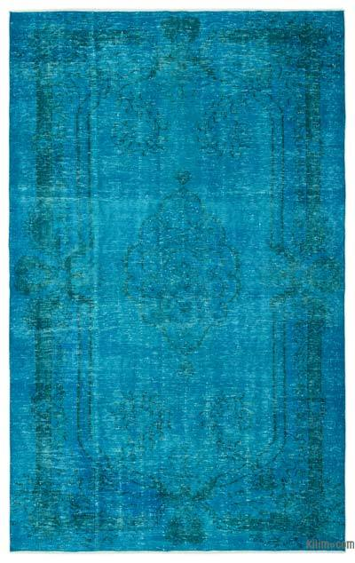 """Over-dyed Turkish Vintage Rug - 6'  x 9' 11"""" (72 in. x 119 in.)"""