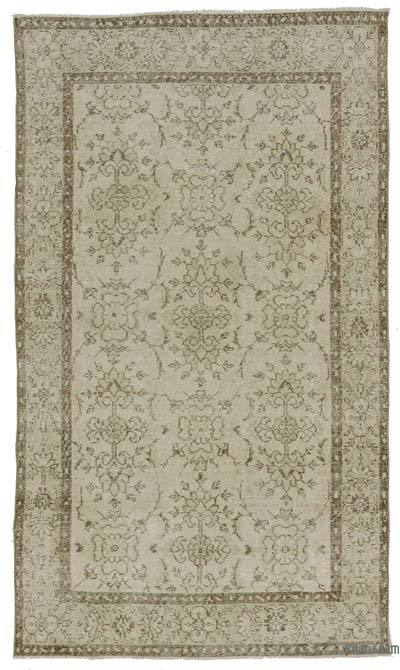 """Turkish Vintage Area Rug - 4'  x 6' 10"""" (48 in. x 82 in.)"""