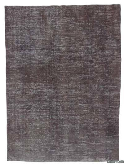 "Over-dyed Turkish Vintage Rug - 6' 9"" x 9' 1"" (81 in. x 109 in.)"
