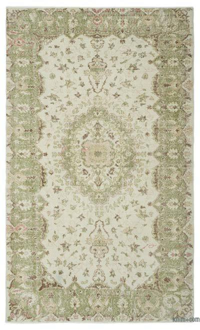"""Turkish Vintage Area Rug - 6'1"""" x 9'11"""" (73 in. x 119 in.)"""