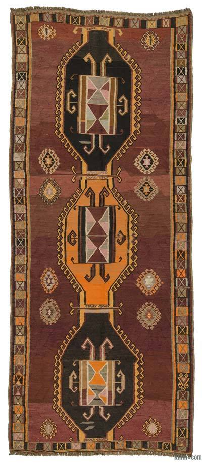 Alfombra Kars Kilim Vintage - 157 cm x 380 cm
