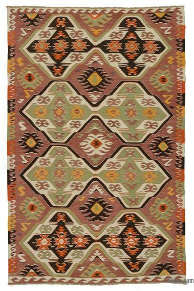 Alfombra Vintage Mut Kilim - 180 cm x 285 cm