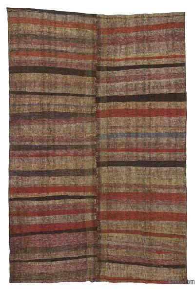 "Vintage Turkish Pala Kilim (Chaput) - 5'11"" x 9'2"" (71 in. x 110 in.)"