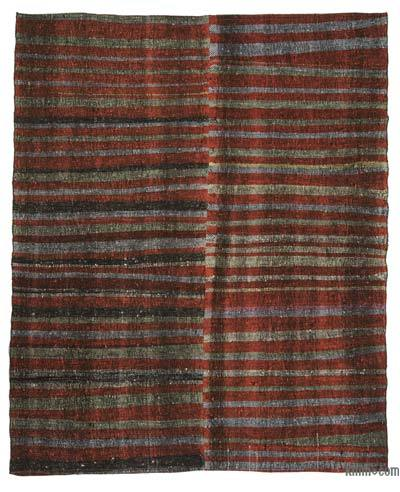 "Vintage Turkish Pala Kilim (Chaput) - 6'6"" x 8'2"" (78 in. x 98 in.)"