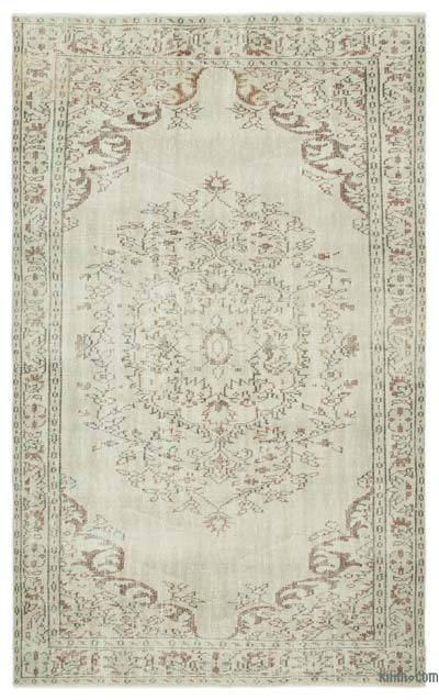 "Over-dyed Turkish Vintage Rug - 5'3"" x 8'6"" (63 in. x 102 in.)"