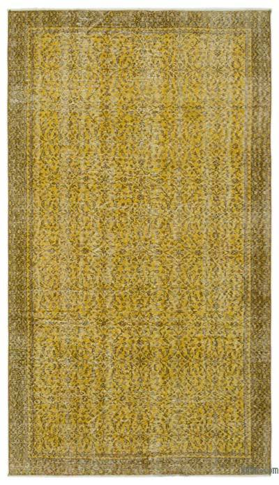"Over-dyed Turkish Vintage Rug - 5'  x 8' 9"" (60 in. x 105 in.)"