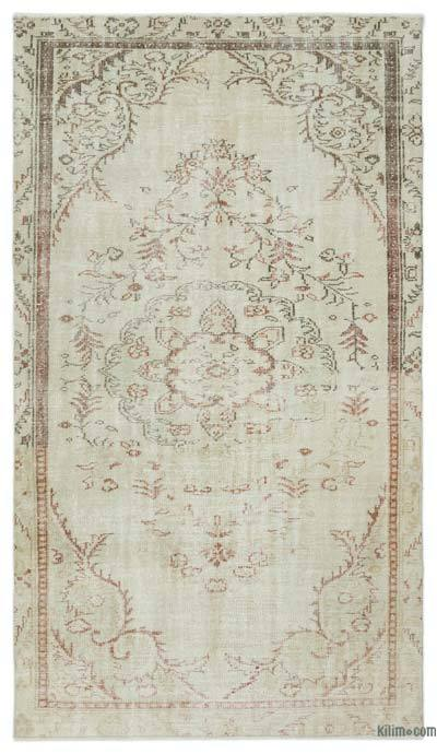 "Over-dyed Turkish Vintage Rug - 5' 1"" x 8' 10"" (61 in. x 106 in.)"