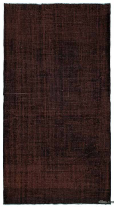 "Over-dyed Turkish Vintage Rug - 5'10"" x 10'3"" (70 in. x 123 in.)"