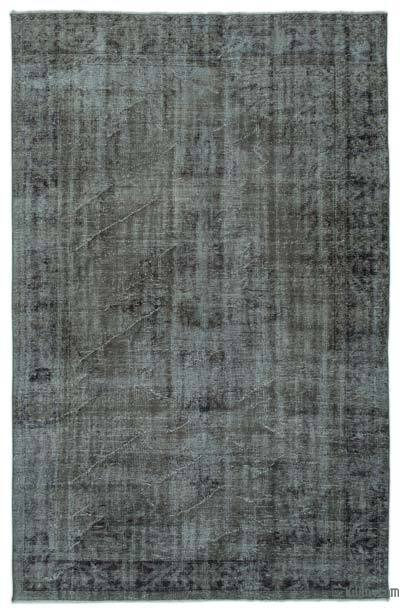 """Over-dyed Turkish Vintage Rug - 5'11"""" x 9' (71 in. x 108 in.)"""