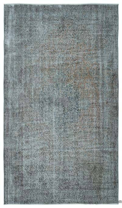 "Turkish Vintage Area Rug - 5'5"" x 9'4"" (65 in. x 112 in.)"