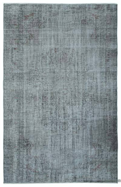 """Over-dyed Turkish Vintage Rug - 5'9"""" x 8'10"""" (69 in. x 106 in.)"""