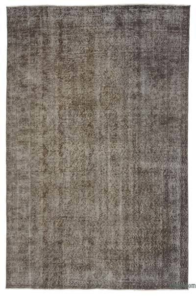 "Over-dyed Turkish Vintage Rug - 5' 8"" x 8' 11"" (68 in. x 107 in.)"