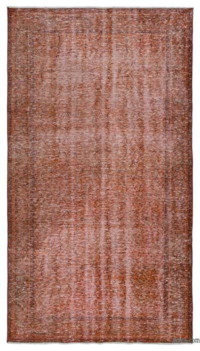 "Over-dyed Turkish Vintage Rug - 4'6"" x 8' (54 in. x 96 in.)"