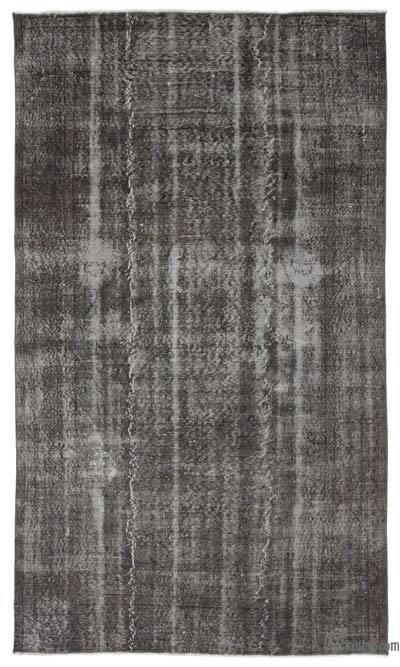 Boyalı El Dokuma Vintage Halı - 168 cm x 288 cm