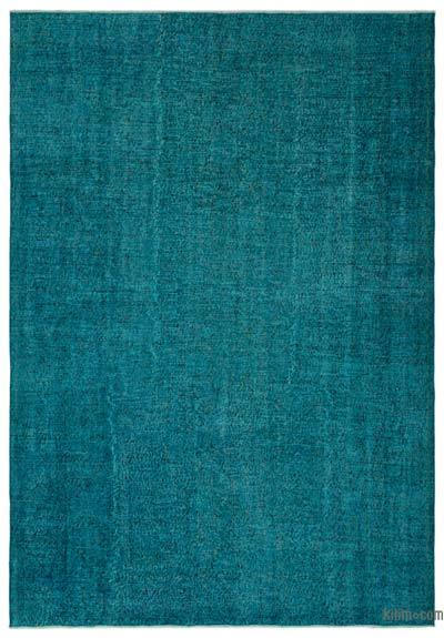 """Over-dyed Turkish Vintage Rug - 6'9"""" x 9'10"""" (81 in. x 118 in.)"""