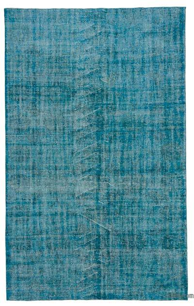 "Over-dyed Turkish Vintage Rug - 6' 2"" x 9' 10"" (74 in. x 118 in.)"