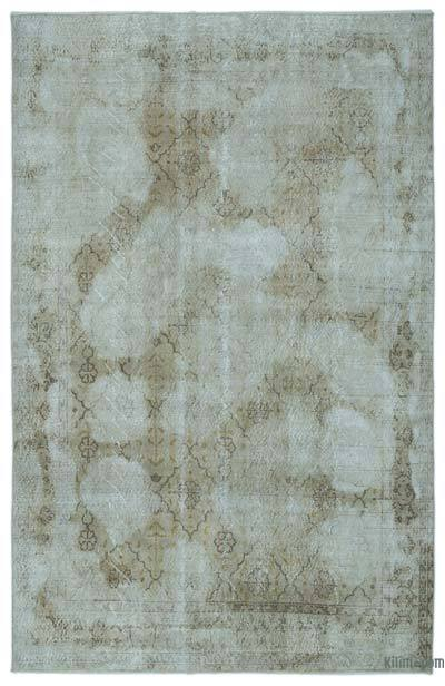 """Turkish Vintage Area Rug - 6'5"""" x 10' (77 in. x 120 in.)"""