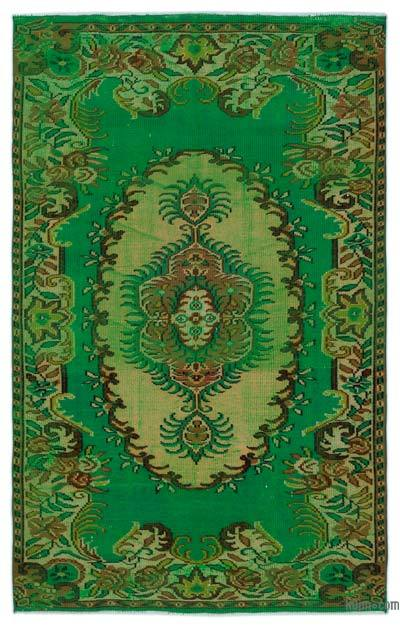 """Turkish Vintage Area Rug - 4'11"""" x 7'10"""" (59 in. x 94 in.)"""