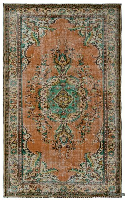 """Turkish Vintage Area Rug - 6' x 9'8"""" (72 in. x 116 in.)"""