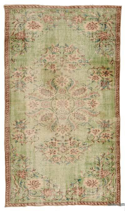 "Turkish Vintage Area Rug - 5'  x 8' 8"" (60 in. x 104 in.)"