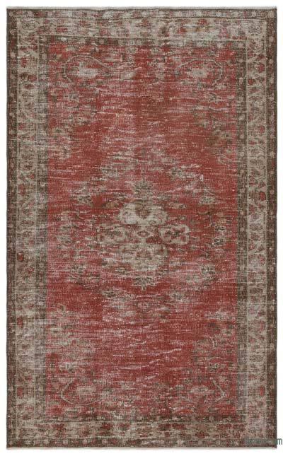 El Dokuma Vintage Halı - 130 cm x 215 cm